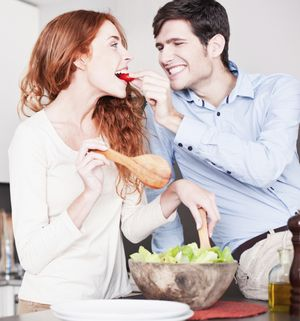 Couple in Kitchen, photo courtesy of ©iStockphoto.com