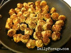 Rosemary Herbed Mini Meatballs cooked md pic