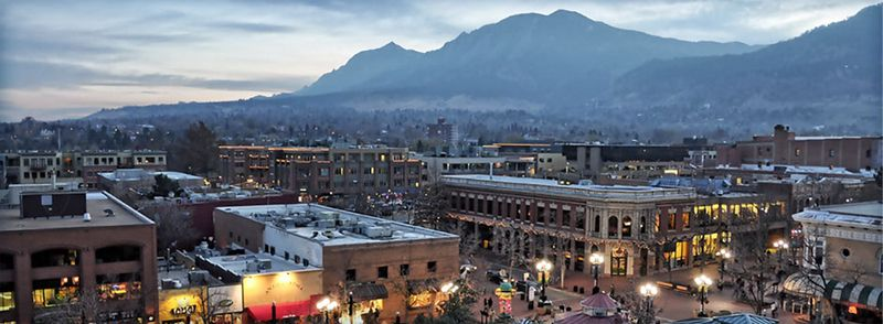 Boulder, Colorado, photo courtesy of Boulder Tourism