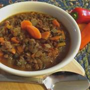 Gluten-free Vegan Lentil Soup