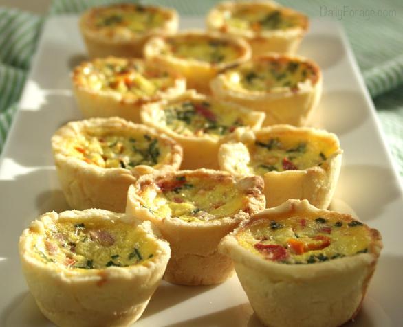 Gluten-free, Dairy-free Mini Quiche Tarts, DailyForage.com