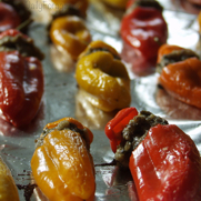 Gluten-free Dairy-free Mini Stuffed Pepper Poppers