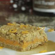 Gluten-free, Dairy-free Apricot Sweet Potato Bars by DailyForage.com