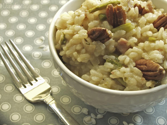Gluten-free Dairy-free Prosciutto and Asparagus Risotto
