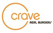 Crave Real Burgers Logo
