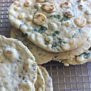 Gluten-free, Dairy-free Flour Tortillas and Flatbread by DailyForage.com
