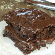 Supremely Chocolate Frosted Brownies
