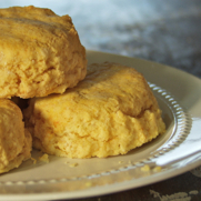 Gluten-free Dairy-free Sweet Potato Yam Biscuits