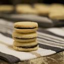 Gluten-free, Dairy-free Milano Copycat Cookies with Amaretto Ganache Filling, DailyForage.com