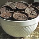 Gluten-free Dairy-free Dark Chocolate Almond Butter Cups