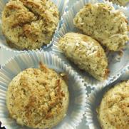 Gluten-free Dairy-free Lemon Poppy Seed Coconut Finger Cakes