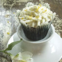 Gluten-free Dairy-free Chocolate Cupcakes with Lemon Buttercream Frosting