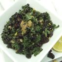 Gluten-free Dairy-free Black Rice Lemon Kale Salad