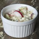 Gluten-free Dairy-free Crunchy Creamy Coleslaw