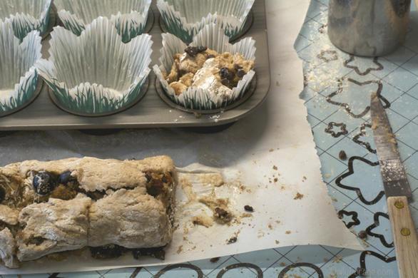 Gluten-free Dairy-free Cinnamon Roll Breakfast Muffins