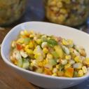 Gluten-free Dairy-free Fresh Corn Nectarine Salsa