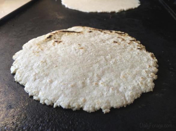 Gluten-free Dairy-free Homemade Corn Tortillas