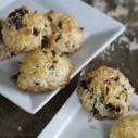 Gluten-free Dairy-free Amaretto Tart Cherry Coconut Macaroons