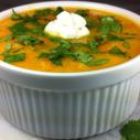 Gluten-free Dairy-free Carrot Rutabaga Ginger Soup
