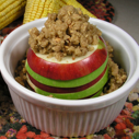 Layered Baked Apples donning Baked Apples donning Gluten-free Dairy-free Crumble Topping