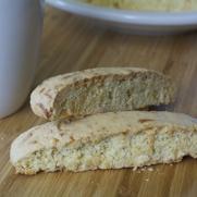 Gluten-free Dairy-free Orange Coconut Biscotti