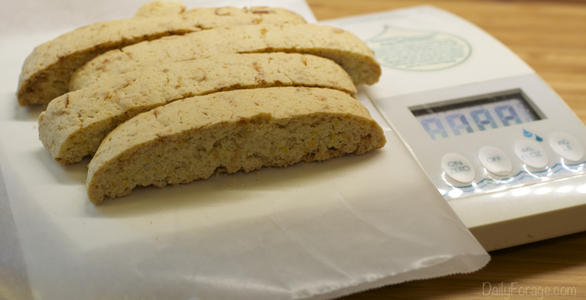 Gluten-free Dairy-free Orange Coconut Italian Biscotti Pie Crust