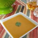 Drunken Roasted Sweet Potato Soup