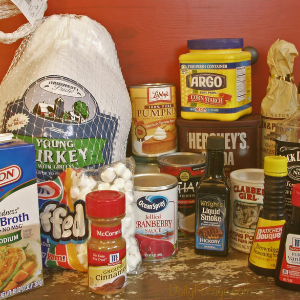 Gluten-free, Dairy-free Thanksgiving and Christmas Dinner Shopping Guide