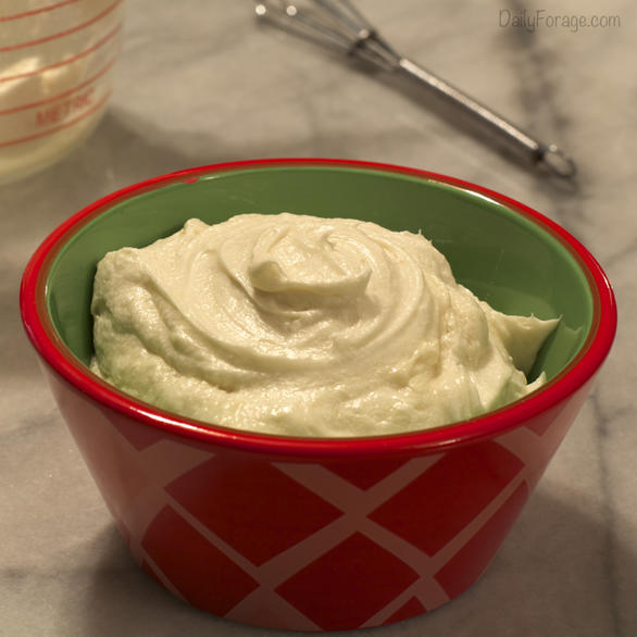 Gluten-, Dairy-, Soy-free Cream Cheese Frosting
