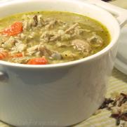Gluten-free, Dairy-free Turkey Wild Rice Soup