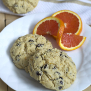 Gluten-free Dairy-free Chocolate Chip Orange Biscuit Scones