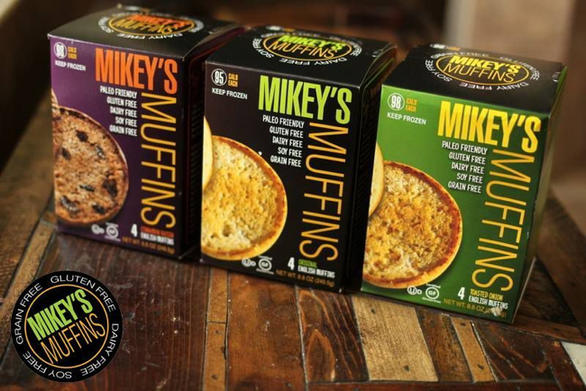 Mikey's Muffins, Three Varieties, photo courtesy of Mikey's Muffins
