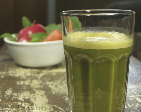 Sweet Bang Broccoli Juice, DailyForage.com