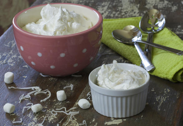 Gluten-free Dairy-free Tropical Whipped Cream Salad