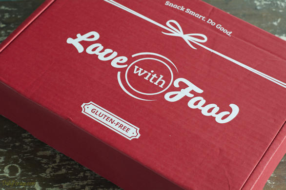 Love With Food Gluten Free Box - Yay! Samples at my doorstep!
