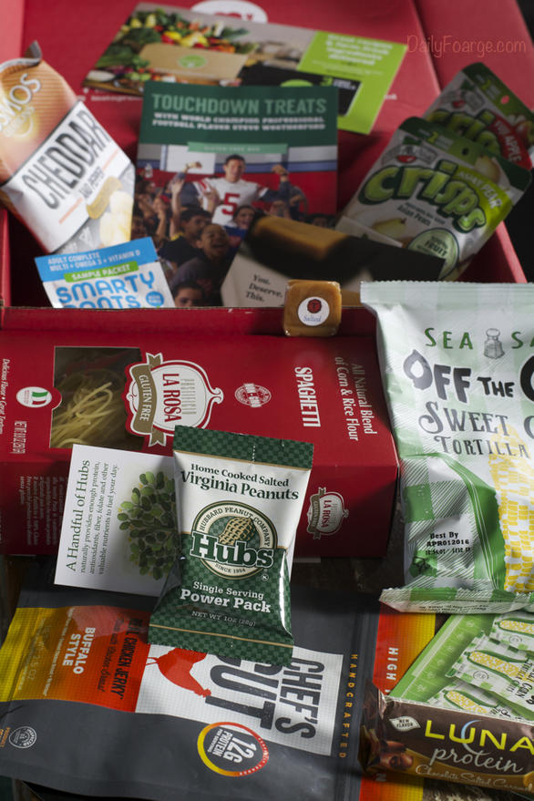 Love With Food Gluten Free Box - Look at all those goodies!