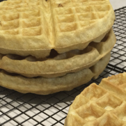 Perfect Single Flour Gluten Dairy Free Waffles by DailyForage.com