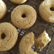 Gluten-free, Dairy-free Pumpkin Spice Doughnuts by DailyForage.com