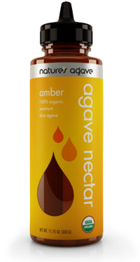 Natures Agave Nectar, photo courtesy of Natures Agave