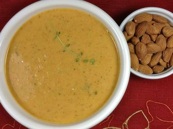 Vegetable Nut Butter Soup, photo:recipe by Daily Forage