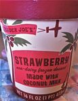 TJ's Strawberry Coconut Milk Ice Cream
