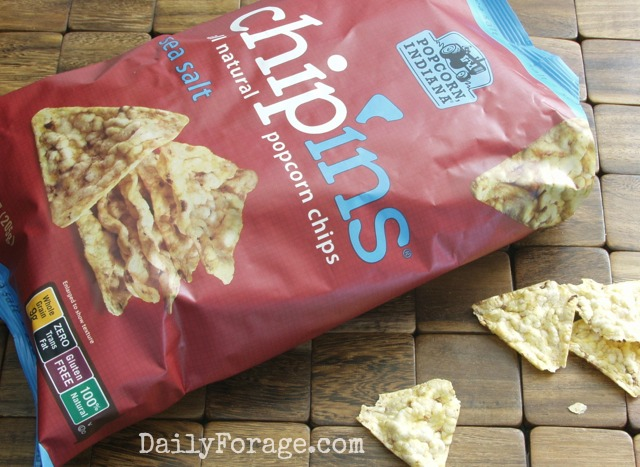 Chip'Ins All Natural Popcorn Chips Gluten Free
