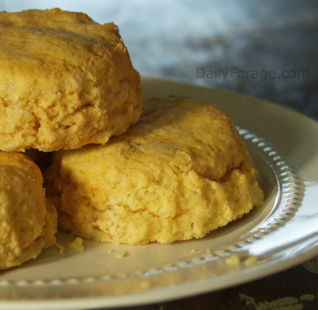 Sweet Potato Yam Biscuits Partial