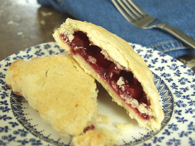 Cherry Pie Pockets cut in half, Daily Forage photo