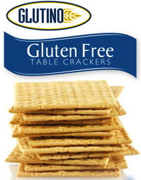 Glutino GF Table Crackers, photo courtesy of Glutino