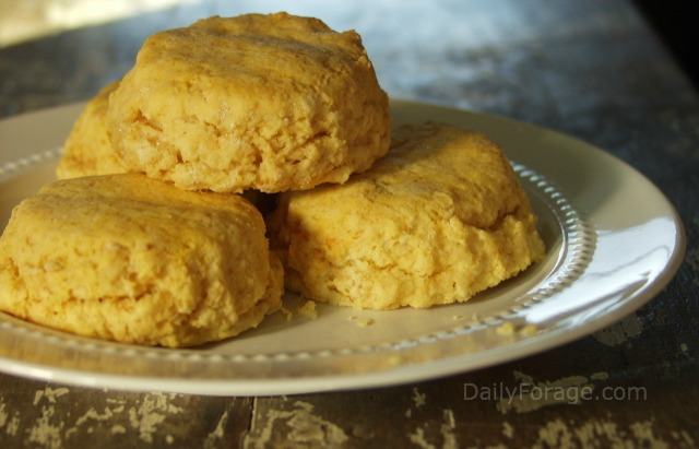 Sweet Potato Yam Biscuits Full