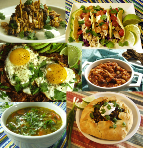 Cinco de Mayo Recipe Collage, DailyForage.com