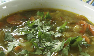 Gluten-free, Dairy-free Mexican Chicken Soup