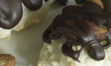 Gluten, Dairy, Soy, Peanut Free Almond Joy Coconut Macaroon Cookies