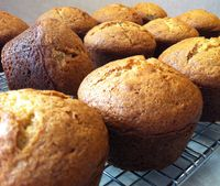 Chocolate Chip Banana Muffins Using Oil